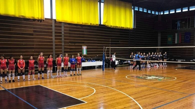 Перун лидер в група Д-1 за девойки U20