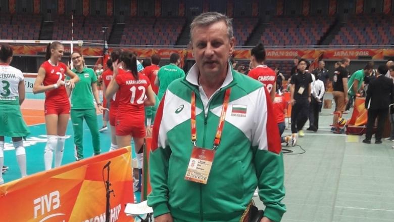 Любомир Герасимов: Надявам се отново да направим успешна година за женския волейбол