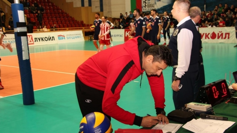 Николай Желязков: Играхме по-стойностен волейбол