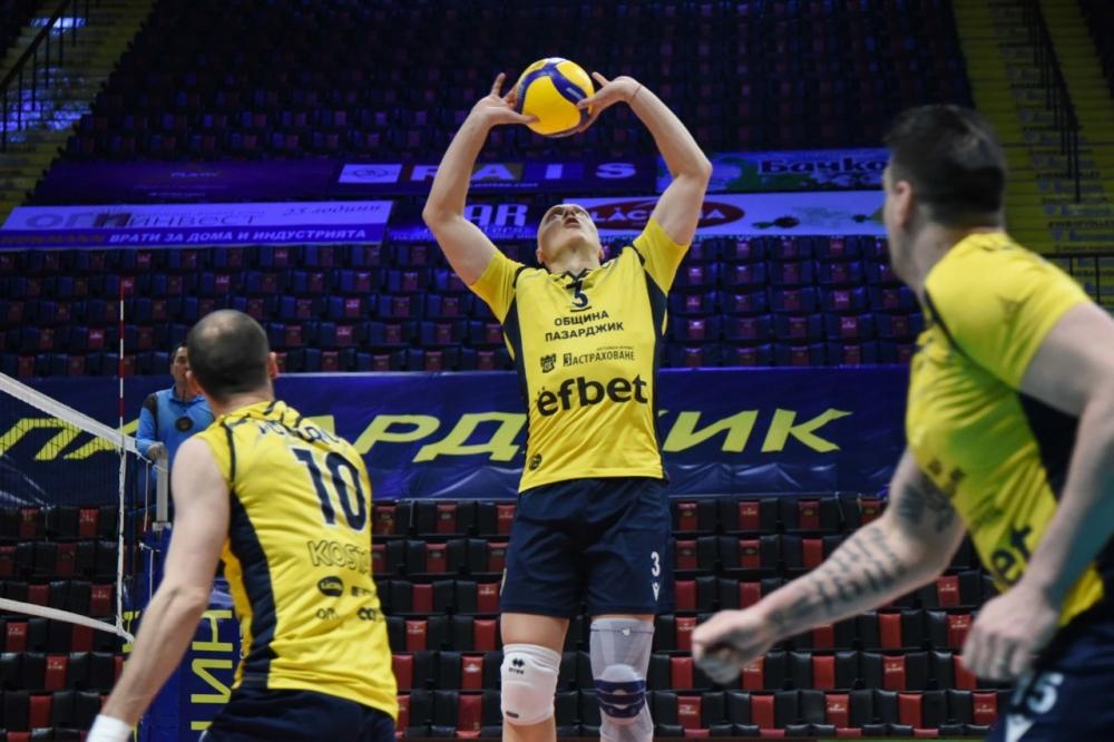 Иван Станев: Играхме като отбор, задружно и с емоция