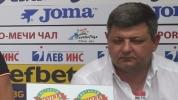 Александър Маджуров: Целта ни е оцеляване в Суперлигата