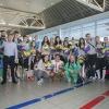 27-06-2018, национален отбор по волейбол, жени, посрещане от Перу, снимки: LAP.bg