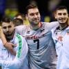 08-01-2020, Сърбия - България, европейска олимпийска квалификация, група В, мъже, Берлин, снимка: ЦЕВ.