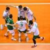 09-01-2020, България - Германия, европейска олимпийска квалификация, полуфинал, мъже, Берлин, снимка: ЦЕВ.