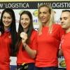 20-09-2017, Бронзовите медалисти за жени до 23 години от Световното първенство в Словения показаха медалите