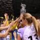 18-04-2019, Волейболистките на Марица (Пловдив) носител на Купа България при жените. Снимки: Костадин Андонов
