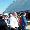 31-05-2020, Бойко Борисов инспектира многофункционалната Арена Бургас, снимки: БНР
