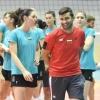17-05-2018, национален отбор по волейбол, жени, открита тренировка, зала